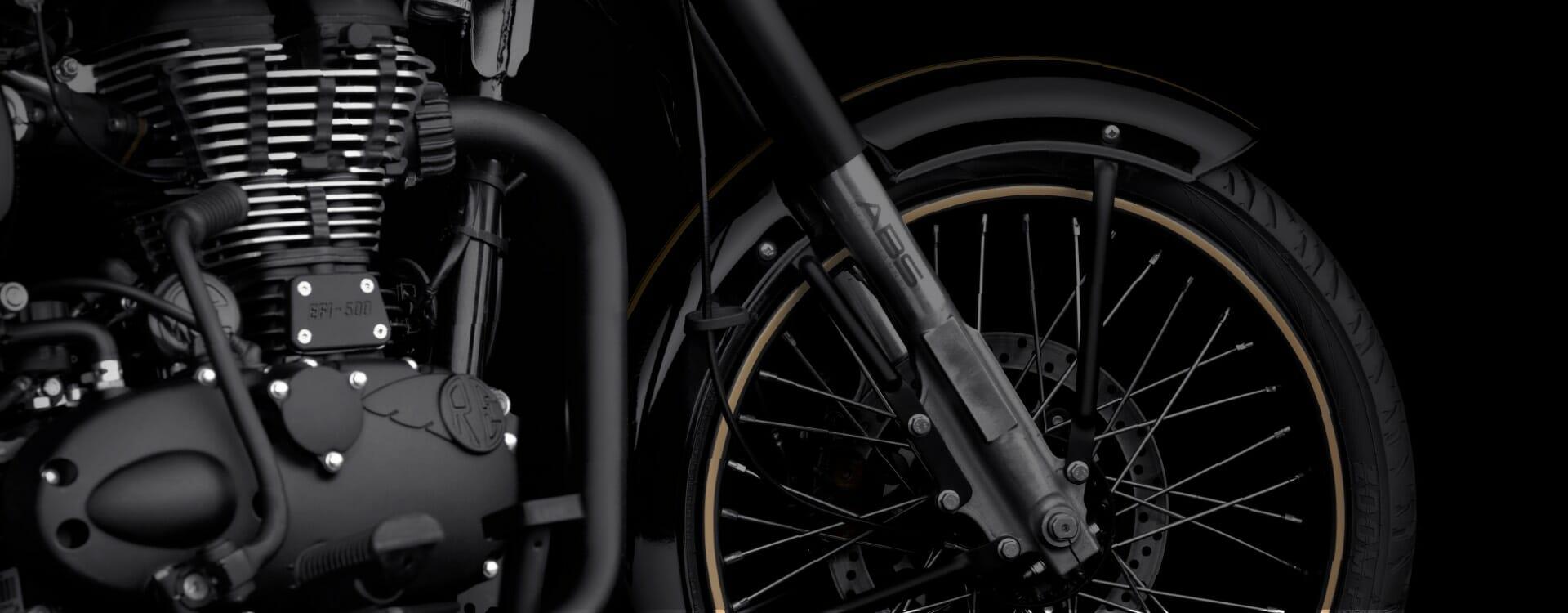 Royal Enfield Classic Tribute Black Gv Bikes